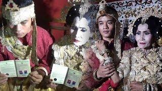 Pernikahan Pemuda 20 Tahun Nikahi Janda 65 Tahun, Dihadiri Waketum DPRD hingga Buat Macet Jalan