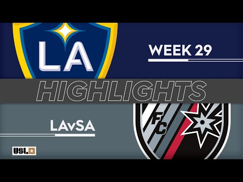 LA Galaxy 2 - Сан-Антонио 1:1. Видеообзор матча 21.09.2019. Видео голов и опасных моментов игры