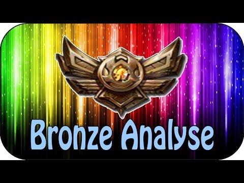 LOL - BRONZE ELO ANALYSE - Wie spielen Bronze Spieler?