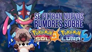 Rockruff  - (Pokémon) - POKÉMON SOL Y LUNA: SE FILTRAN NUEVOS RUMORES, GRENINJA ARCOÍRIS, ROCKRUFF EVOLUCIONES? & MÁS!