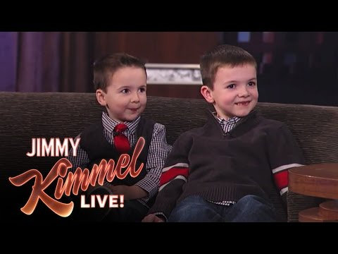 Bratři Jake a CJ u Jimmyho Kimmela