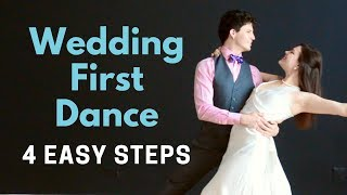 Wedding First Dance Tutorial Video | 4 Easy Steps