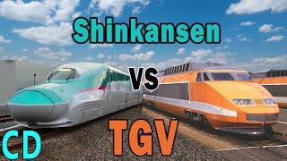 Shinkansen vs TGV - Is One Better Than the Other?