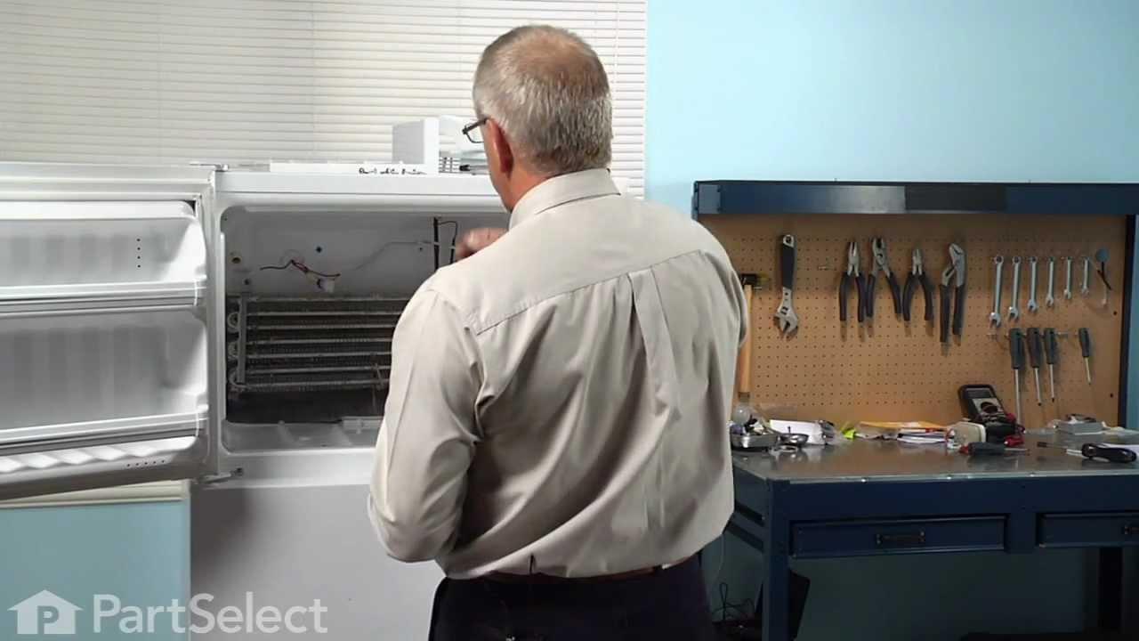 Replacing your General Electric Refrigerator Evaporator/Condensor Fan Grommet