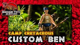 Jurassic World Neue Abenteuer / Camp Cretaceous Custom Ben  Deutsch /German