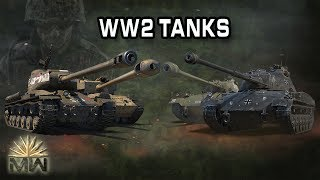 Top 5 Tanks Of World War II