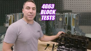 We Cut Up and Test a 4G63 Evo Lancer Block - Platinum Tech