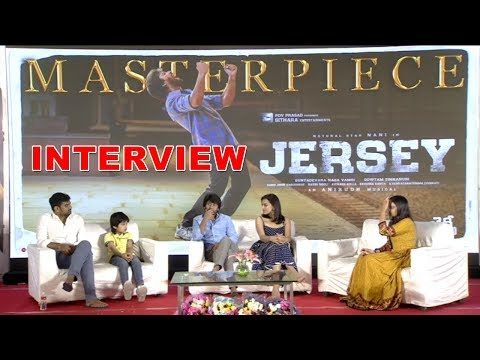 Jersey Movie Team Interview