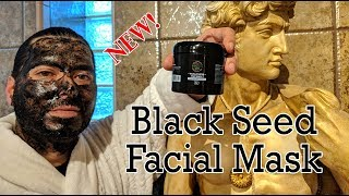 Black seed face mask