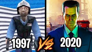 Evolution of Half-Life - From 1997 to 2020
