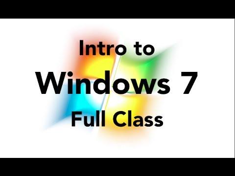Intro to Windows 7 - YouTube