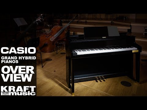 Casio Celviano Grand Hybrid Digital Pianos - Overview with Rich Formidoni