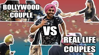 Bollywood Couple Vs Real Life Couple   SahibNoor Singh