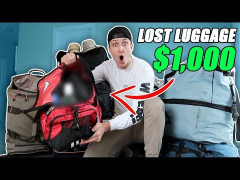 I Bought $1000 Lost Luggage at a Storage Unit Auction and Found This… (Buying Lost Luggage Auction)