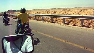 preview picture of video 'Egypt Bikers Trip To Sokhna'
