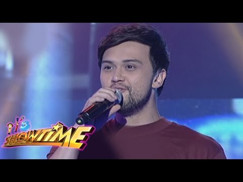 "It's Showtime: Billy Crawford sings ""Getting To Know Each Other"""
