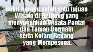 preview picture of video 'Bukit Berahu Salah satu tujuan Wisata Belitung yg menyuguhkan Wisata Pantai,Taman dan Kolam Renang'