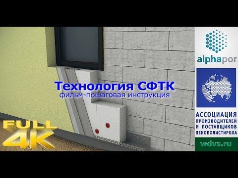 Технология утепления фасада (