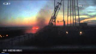 Orbital Sciences Antares CRS 3 Complete Launch Coverage - Explosion