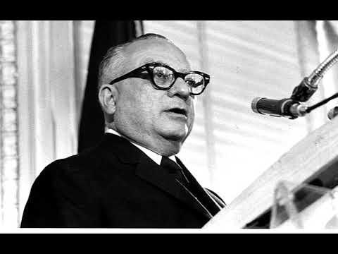 Discurso ante el cne en la proclamacion como presidente 1959