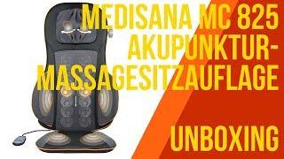 MEDISANA MC 825 Akupressur-Massagesitzauflage - UNBOXING