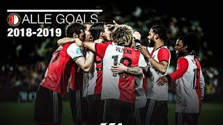 GOALS | Alle 75 Eredivisiedoelpunten van Feyenoord in 2018-2019
