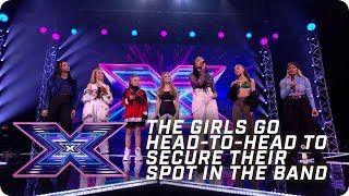 The girls go HEAD-TO-HEAD for a spot in the band! | X Factor: The Band | Arena Auditions
