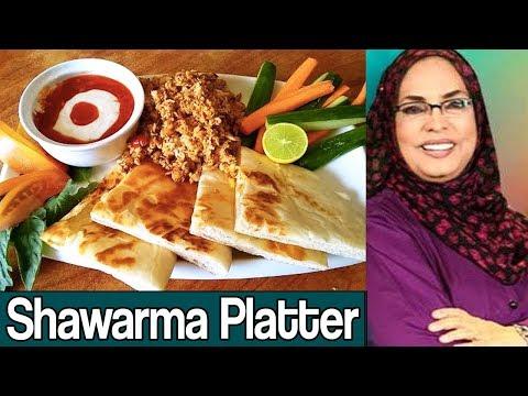 Dawaat e Rahat | Shawarma Seekh Platter | 9 October 2017 | AbbTakk News