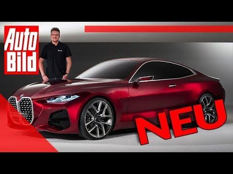 BMW Concept 4 (2020): Auto - Neuvorstellung - Studie - Design - Infos