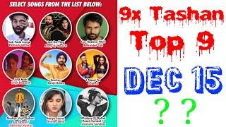 9x Tashan Top 9 Of This Week- December 15, 2018   Latest Punjabi Songs 2018  