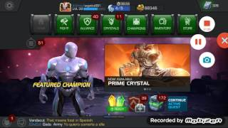 Marvel contest of champion change your global chat