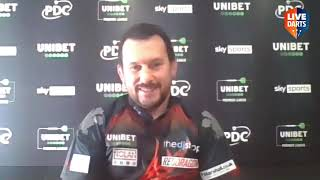 """Jonny Clayton on beating MVG: """"That wasn't Michael at his best but I did a job and punished"""""""