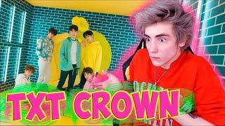 TXT (투모로우바이투게더) '어느날 머리에서 뿔이 자랐다 (CROWN)' Реакция | BTS | Реакция на TXT CROWN | ТХТ CROWN reaction