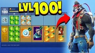 FORTNITE *NEW* SEASON 6 BATTLE PASS TIER 100 UNLOCKED! (How To Upgrade Skins)