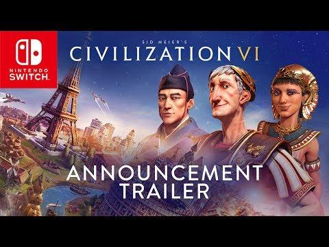 Civilization VI - Nintendo Switch Announcement Trailer thumbnail