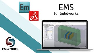 Simulating the fringing of electric field using EMS for SOLIDWORKS