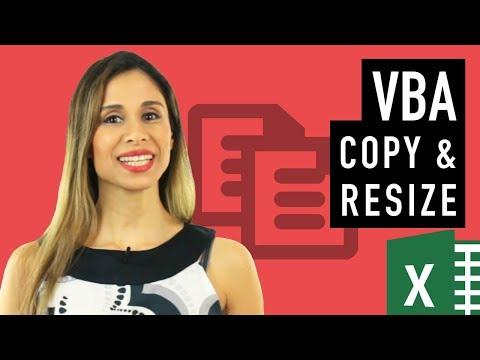 Copy & Paste in Excel VBA (copy, pastespecial, resize & offset)
