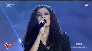 DORA GAITANOVICI - Je Suis Made   Vocea Romaniei 2018   SEMIFINALA LIVE