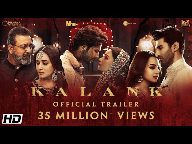 'Kalank' Official Trailer