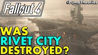 Fallout 4: Was Rivet City From Fallout 3 Destroyed? What Happened? (Lore And Theory) #PumaTheories