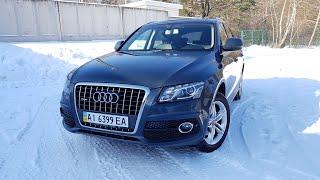 Audi Q5 2.0 TFSI. Тест-Драйв. Едет, но ломается.