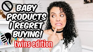 BABY PRODUCTS I REGRET BUYING 2020 | TWINS EDITION | LIFEWITHLO
