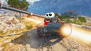ТАНКИ Приколы и ЗАВОРАЖИВАЮЩИЕ моменты из World of Tanks