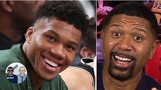 Giannis is 'the unstoppable object of the NBA,' he's that dominant! - Jalen Rose   Jalen and Jacoby
