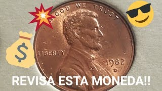 URGENTE, revisa tu moneda de 1982D Lincoln cent