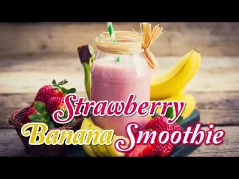 Video Strawberry Banana Juice
