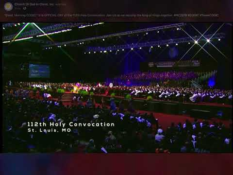 112th COGIC Holy Convocation Official Day Praise Break