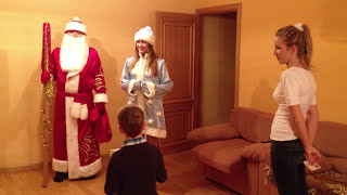 Как Дед Мороз пришел к Ване..MOV