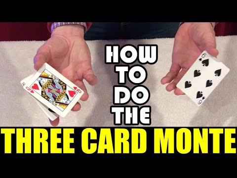 Never fall for the Three Card Monte scam again.