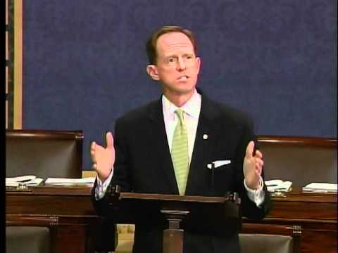 Sen. Toomey speaks on the Senate floor on the debt limit